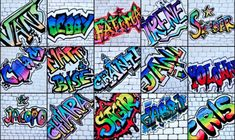 Name in Graffiti style Could do large scale on mural paper and display on walls . - Name in Graffiti style Could do large scale on mural paper and display on walls in hallway - Graffiti Art, Graffiti Drawing, Graffiti Lettering, Street Graffiti, Middle School Art Projects, Art School, Art Pour Salon, Classe D'art, 7th Grade Art