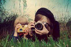 faire des photos avec les enfants