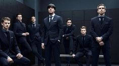 World Cup 2014 Team Germany suits -Hugo Boss