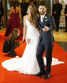 Vestido de casamiento de antonella messi
