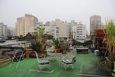 Very nice hostel with a lovely roof terrace