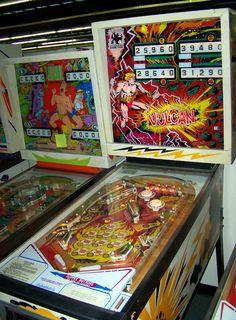 """1977 Vulcan """"Gottlieb""""Pinball Machine"""