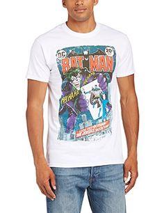 DC Comics - Camiseta de manga corta para hombre #regalo #arte #geek #camiseta