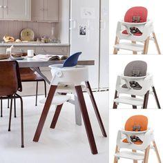 Beautiful modern & ergonomic baby and kids high chair .... Stokke Steps