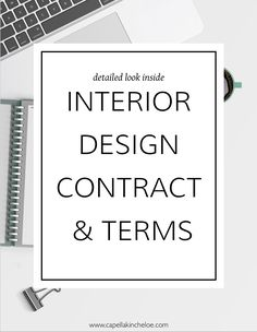 Anatomy Of An Interior Design Agreement 20