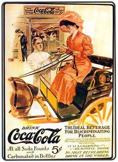 Drink Coca Cola vintage posters vintage canvas printing wall decor print home decor printable photo Propaganda Coca Cola, Coca Cola Poster, Coca Cola Drink, Cola Drinks, Coca Cola Ad, Always Coca Cola, World Of Coca Cola, Coca Cola Vintage, Old Advertisements
