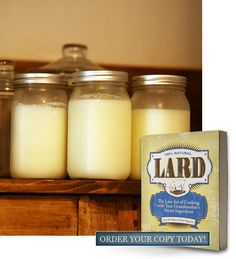 How to Render Lard [Or easy way just save the liquid from your baked meats, which in the fridge will separate into broth with lard on top. This way does have a meat flavor, though. Easy Cooking, Cooking Tips, Lard Recipe, Rendering Lard, Provident Living, Peach Jam, Old Fashioned Recipes, Preserving Food, Emergency Preparedness