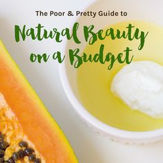 My very first eBook — the Poor & Pretty Guide to Natural Beauty on a Budget — has been out for just over a week now, so I thought I'd give you a
