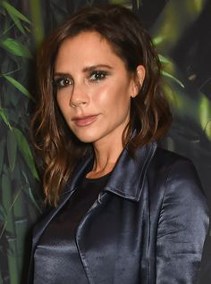 The 8 Prettiest Lobs of 2016 Make Us Want to Chop Off Our Hair, Stat - Victoria Beckham from InStyle.com