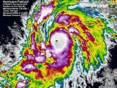 Alerta roja México: El potente huracán Patricia se acerca a sus costas
