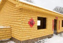 Egy kínai férfi egy egész házat épített magának kukoricából Hungary, Shed, Outdoor Structures, Crafts, Gardens, Manualidades, Handmade Crafts, Craft, Arts And Crafts