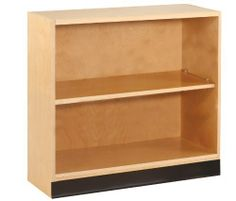 """Diversified Woodcrafts OS-1702 Maple Hardwood Open Shelf Floor Storage Bookcase with 2 Adjustable Shelves, 36"""" Width x 35"""" Height x 12"""" Depth by Diversified Woodcrafts. $422.00. Open shelving that works great for bookshelves. Constructed of maple hardwood and maple veneers using dowel construction reinforced with glue and screws. With two adjustable shelves. Measures 36"""" width by 35"""" height by 12"""" depth."""
