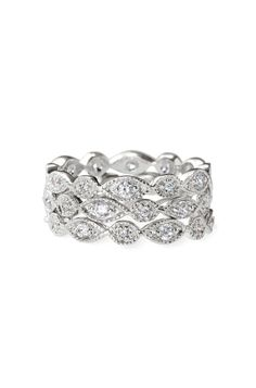 These stackable deco rings from Stella would be perfect for a bridesmaids gift!