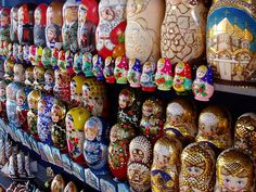 I have always loved the Russian Dolls