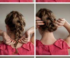 Braided upstyle – Hair Romance on Latest Hairstyles