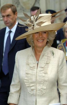 Camilla, Duchess of Cornwall attends the Battle of Britain Service of. Camilla Duchess Of Cornwall, Prince Charles And Camilla, Lady In Waiting, Real Princess, English Royalty, Tiaras And Crowns, Royal Fashion, Duke And Duchess, Elegant Woman