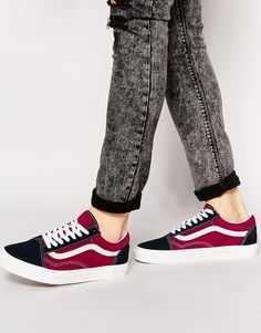 e117fb69bdad79 Image 1 of Vans Old Skool Suede Trainers Tenis Vans