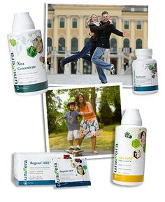 Products for Vitality. . .these are plant based products that are very effective.
