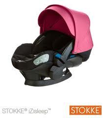 The Stokke car seat to match, making it the perfect travel system.