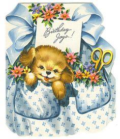 Birthday Joys card by Tommer G, via Flickr