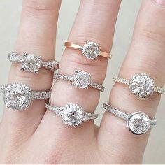 Which one is your favorite?《#tacori #tacorigirl #tacorituesday #proposal #engaged #girlsdream #engagement #engagementring #lancaster #koserjewelers #koser #diamond #sparkle #koserbride #bridetobe #bride #jewelry #jewelrygram #potd》