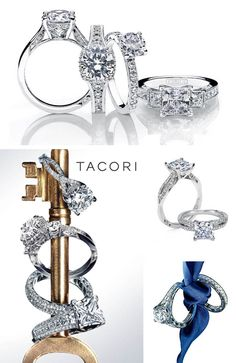 Capri Jewelers Arizona ~ www.caprijewelersaz.com engagement rings by tacori