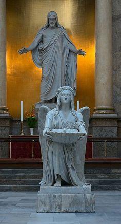 Angel at Altar, Vor Frue Kirke, Copenhagen