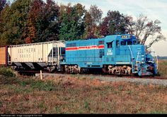 RailPictures.Net Photo: CA 2158 Chesapeake & Albemarle Railroad EMD GP7 at Northwest, Virginia by Tom Sink