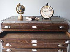 Get It For Less: Vintage Industrial Flat File Cabinet — Apartment Therapy Marketplace