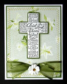 Easter Card - Christian - Religious. $5.99, via Etsy.
