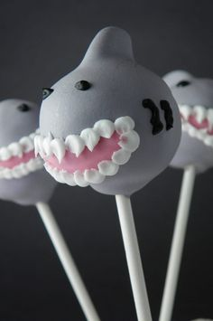 Sharkna-dough. This scarily good cake pop is by The Cake Poppery.
