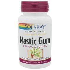 Mastic gum ulcer