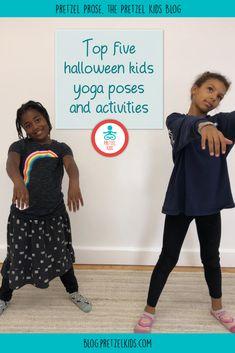 Top 5 Halloween Kids Yoga Poses and Mindfulness Activities