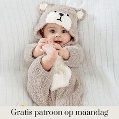 Gratis patroon - Breipatroon kruippak Victoire. - Hobbydoos.nl