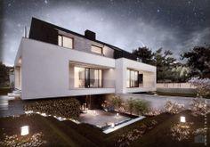Domy - Styl Minimalistyczny - artMOKO Modern House / EUropean House