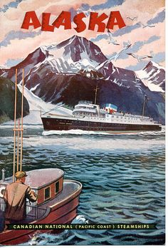 Pacific Coast Steamships for August 5, 1954; S.S. Prince George