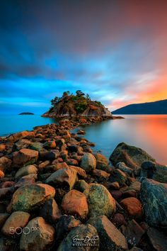 Whytecliff Park, near West Vancouver's Horseshoe Bay by  Erwin Delfin