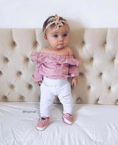 583fdbdbbd2 Baby Girl Easter Outfit - Hippity Hop as seen in VOGUE - Easter ...