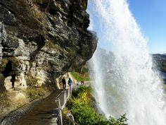 Steinsdalsfossen along Hardanger National Tourist Route