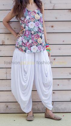 Super comfortable multi pleated pants. Known as genie pants, harem pants or…
