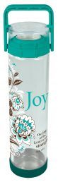 WATER BOTTLE:  JOY (WBT063). Available from CUM Books in South Africa.