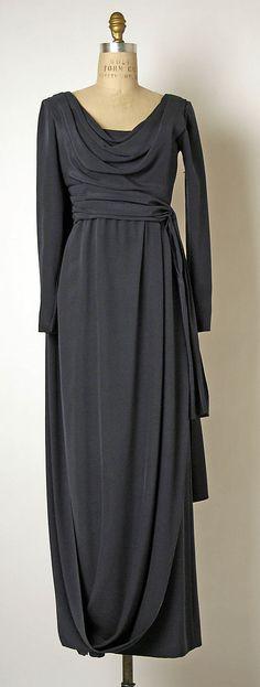 Evening dress Yves Saint Laurent, Paris (French, founded 1961) Designer: Yves Saint Laurent