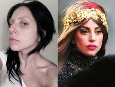 Lady Gaga - the virtues of makeup