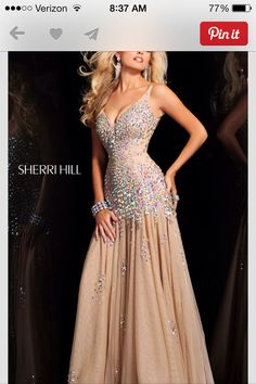 Sherri Hill prom dress!! Love this!!!