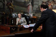 #RoccoPapaleo e #AlessandroBesentini sul set di Un #BossInSalotto, al cinema dal 1 Gennaio! #WarnerComedy