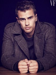 The Divergent Life: Vanity Fair Magazine Spotlight - DIVERGENT's Theo James (March 2014)
