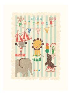 Poster, Cirkus mus og venner