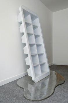 exasperated-viewer-on-air: Rómulo Celdrán - Macro XIII, 2013 polychromed cardboard, aluminum and epoxy resin 78 3/4 × 47 1/4 × 88 3/5 in / 200 × 120 × 225 cm