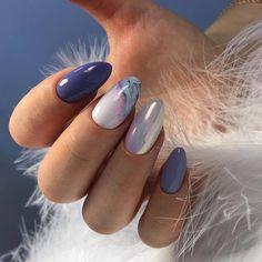 Nails art Easy Gel Nail Art Designs Trends & Ideas 2019 Kolay Jel Nail Art Trendler ve Fikirler 2019 Matte Almond Nails, Short Almond Nails, Almond Nail Art, Almond Nails Designs, Gel Nail Art Designs, Best Nail Designs, Popular Nail Designs, Easy Nail Art, Cool Nail Art