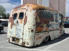 Ratrod Panel Delivery Truck Van! Love this!!